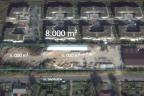 Piaseczno - sprzedam działkę budowlaną - pozwolenie na budowę 3 budynków wielorodzinnych: 6500 pumu