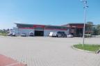 Kompleks motoryzacyjny: warsztat samochodowy, okręgową stację kontroli, sklep, myjnia, parking