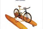 "Katamaran pływający do roweru ""surfbike"""