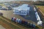Okręgowa stacja kontroli pojazdów i serwis obsługi samochodów z infrastrukturą