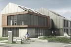 Projekt budowlany 2200m2 pow. biurowych Kraków Bonarka z pozwoleniem