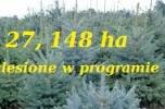 27, 148 ha zalesione sprzedam, dopłaty