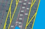 55 działek budowlanych z W/Z / Pum 20000 m2 + marina / pow. : 115000 m2