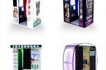 Automaty fotograficzne tzw. fotobudki w galeriach handlowych
