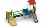 Certyfikowane place zabaw z drewna - produkcja i montaż