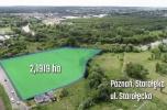 Grunt na sprzedaż z linią brzegową Warty w Poznaniu, port rzeczny, duży potencjał