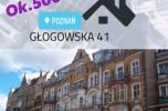 Mieszkania w kamienicy na flipa ul. Głogowska Poznań tyż przy targach Dworcu centralnym
