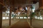 Modrzewiowy dworek-restauracja wraz hotelem, stajnią i stróżówką