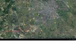 Obiekt inwestycyjny węzeł Bielany, autostrada A4, wysoko rozwijający się teren przemysłowy