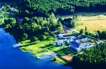 Ośrodek wczasowy nad jeziorem I klasy czystości 100km od morza
