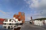 Port jachtowy Mikołajki, kapitanat  na wodzie