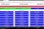 Portal internetowy dla poszukujących pracy