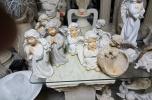 Produkcja zniczy gipsowych i aniołów dekoracyjnych
