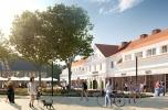 Projekt deweloperski w mieście ze strefą ekonomiczną