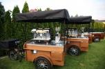 Rowery gastronomiczne, handlowe, biznes, Caffe rower, saturator, lemoniada - okazja