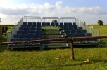 Rozkładane trybuny teleskopowe, mobilne, łatwość montażu