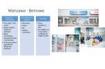 Sieć pralni w centrach handlowych