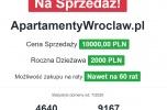 Sprzedam domenę - apartamenty Wrocław