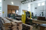 Sprzedam działający zakład drzewny z wyposażeniem tartak i stolarnia