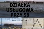 Sprzedam działkę przy S8 Warszawa-Janki - usługi,magazyn,biura,produkcja