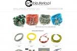 Sprzedam sklep internetowy (biżuteria) z towarem bransoletki kamienie korale kolczyki rękodzieło