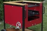 Sprzedam wzór użytkowy - grill węglowy z nadmuchem