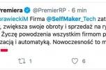Udziały polskiej firmy technologicznej